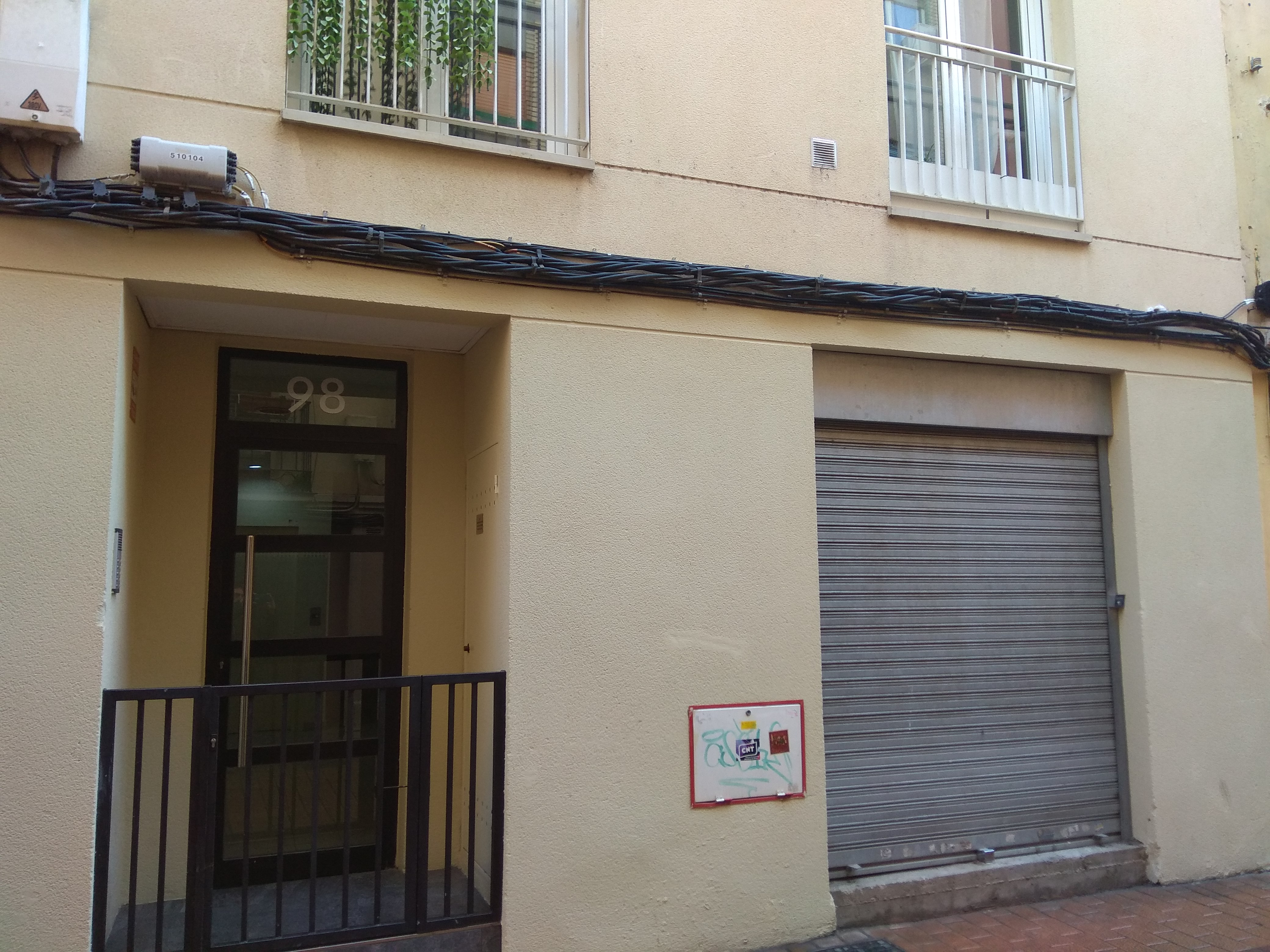Local de obra de 69 metros en el Casco Histórico de Zaragoza, calle Boggiero, junto a la calle Mayoral