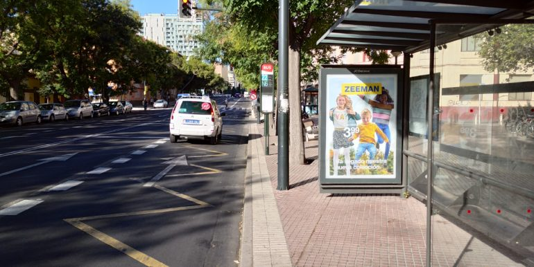 Avenida Duquesa Villahermosa 40 parada bus